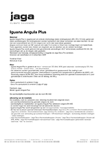 Product description Iguana Angula Plus