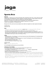 Product description Iguana Arco